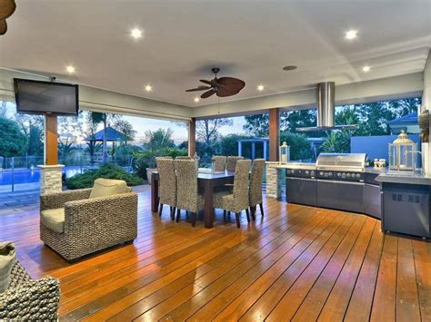 alfresco ideas outdoor living design with bbq area from a real australian