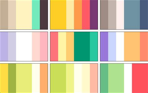 cool 2 color combinations color palettes 4 by rrrai on deviantart