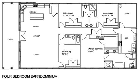 shop house floor plans 30 barndominium floor plans for different purpose