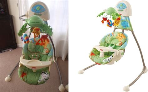fisher price rainforest cradle swing discover top baby swings reviews ratings 2017