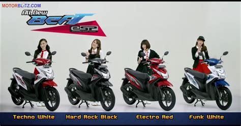 Funk White All New Beat Esp Cbs Honda Motor Otr Purwodadi spesifikasi harga warna dan fitur all new honda beat