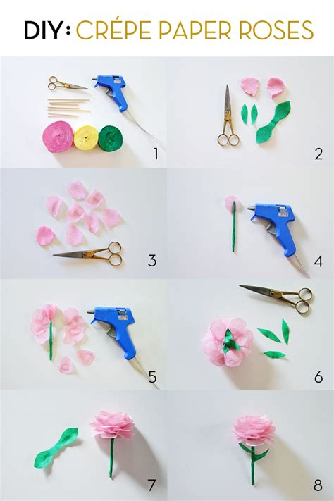 Things To Make Out Of Crepe Paper - diy cr 233 pe paper roses by marilyn brewed together