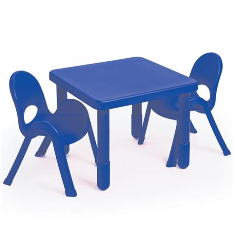 angeles ab myvalue set  preschool matching table  chairs