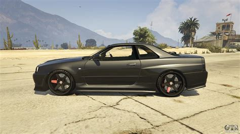 nissan gtr gta 5 nissan skyline gtr r34 for gta 5