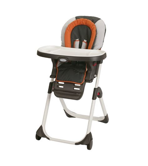 high chair that connects to table graco duodiner lx high chair tangerine