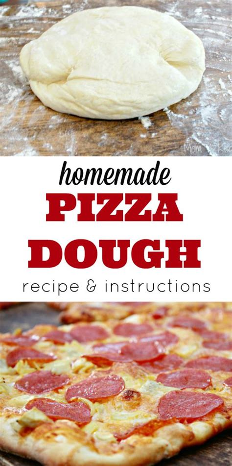 Handmade Pizza Dough Recipe - dough recipe easy pizza and pizza on