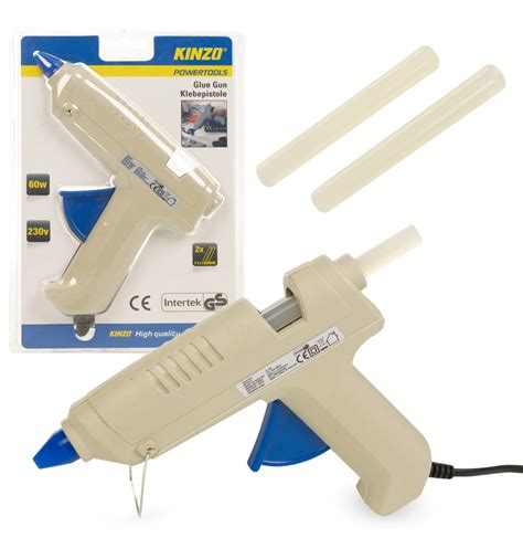 Refill Lem Stick Glue Gun kinzo beige glue gun 60w with 2x refill sticks 795065