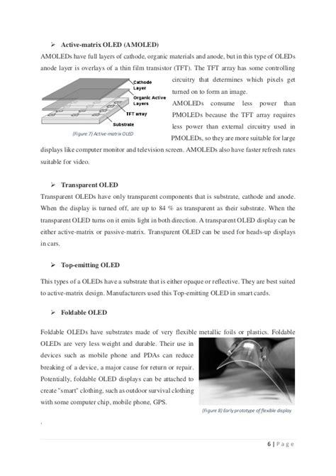 OLED report