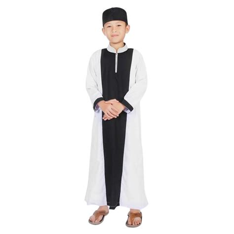 Jubah Saudi Putih Gamis Anak baju gamis putih laki laki gamis murahan