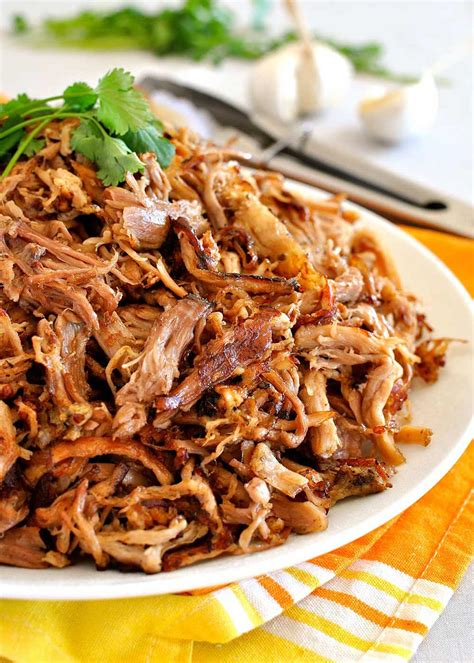 best pulled pork cooker recipe carnitas mexican cooker pulled pork recipetin eats