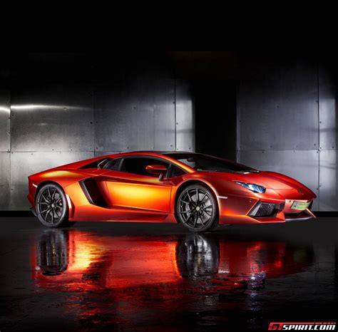 red chrome lamborghini orange red chrome lamborghini aventador by print tech