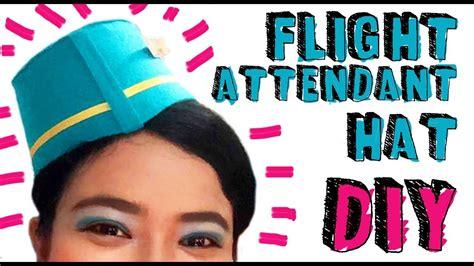 Cho Co Stewardess Pramugari Haloween flight attendant hat diy my crafts and diy projects