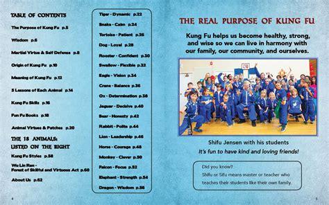 kung fu animal power fu book books kung fu animal power student guide 10000 victories kung fu