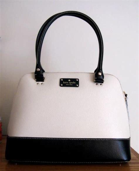 Tas Kate Spade Ks Rachelle 2 Tone Black White Original kate spade wellesley rachelle purse handbag bag