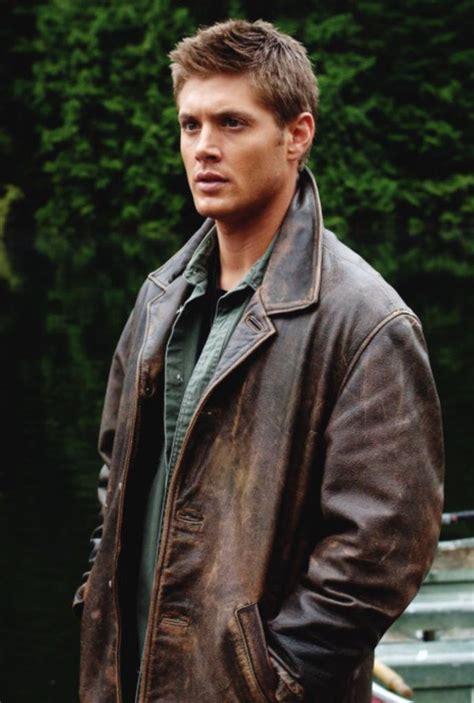 Supernatural Winchester dean winchester jacket distressed leather supernatural coat