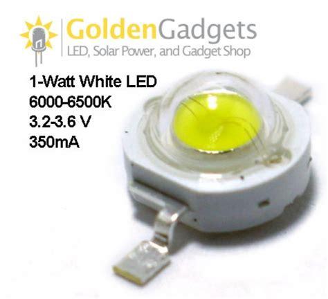Led 1 Watt Bright 1 watt 90 lumen white 6000k led emitter