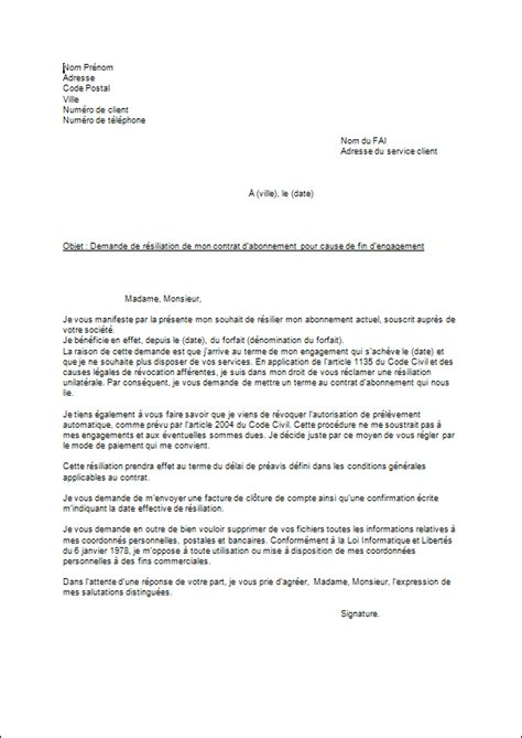 Lettre De Resiliation Orange Professionnel Exemple Lettre Resiliation Orange