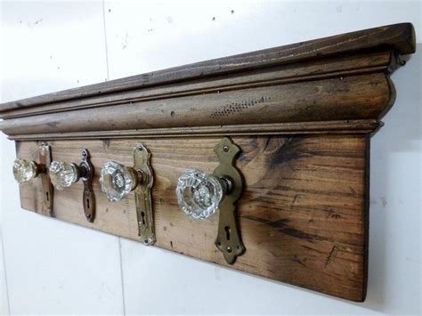 Glass Door Knob Hooks by Easy Diy Tips On Building Your Own Coat Racks Decor