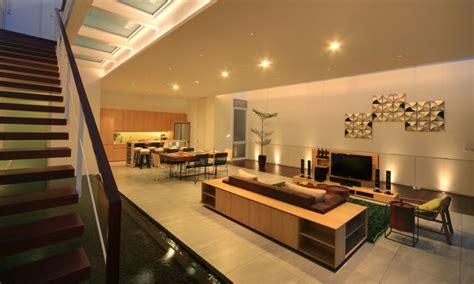 home interior design jakarta narrow house maximizes space on three floors idesignarch