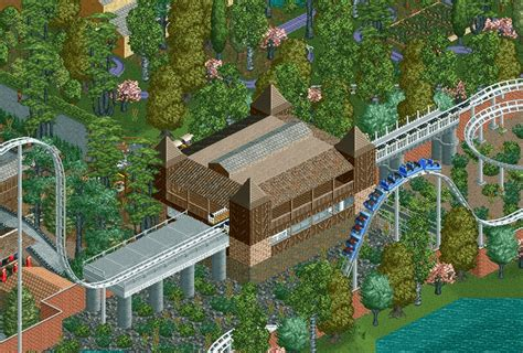 rct2 brookwood gardens page 3 theme park review
