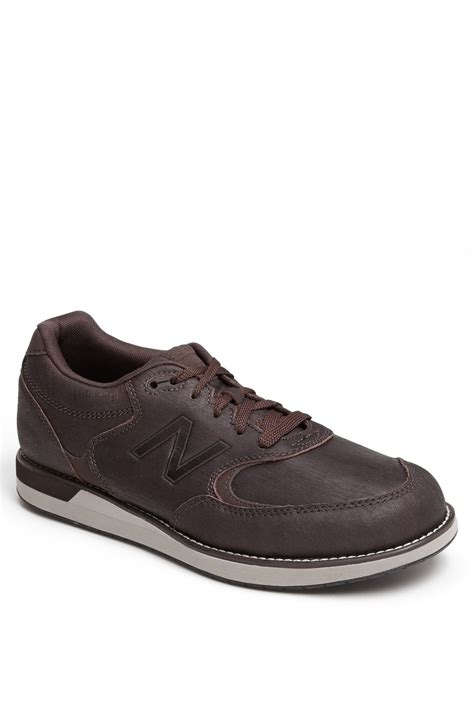 new balance walking shoes for new balance 985 walking shoe in brown for lyst