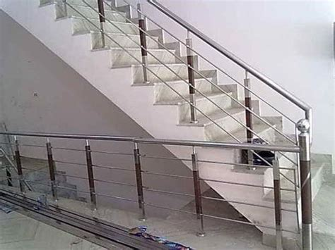Handrails For Rs stair railings at rs 500 kilogram s industrial area