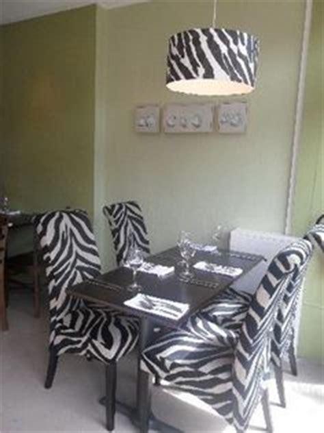Zebra Dining Room Set by I Zebra Prints On Zebra Print Zebras And