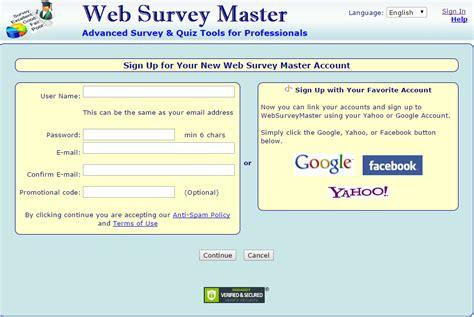 Web Based Survey Tools - websurveymaster online survey software review web based survey software