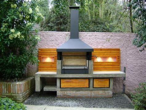imagenes de asadores minimalistas 10 dise 241 os de churrasqueras o parrillas planos de casas