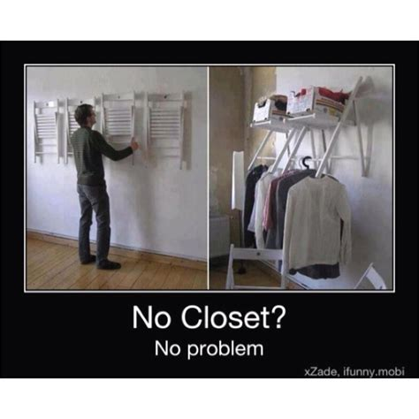 no closet no problem for the home no