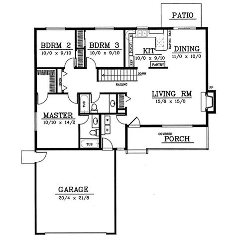 house plan 1978 small country ranch house plans home design ddi92 110