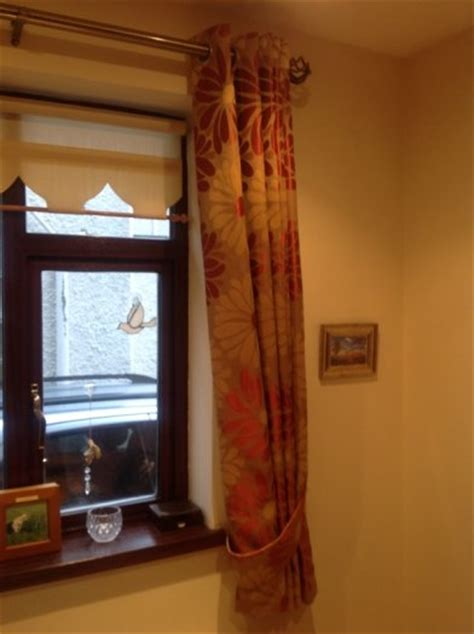 rustic orange curtains goldrustic orange curtains for sale in santry dublin from