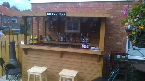 Pub Garden Ideas Garden Bars Shed Pubs How To Bring Your Local Home