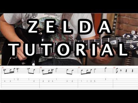 zelda tutorial guitar especial videojuegos y pel 237 culas como tocar el tema de