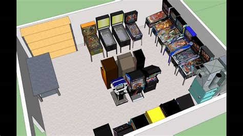 youtube classic layout my new classic video game arcade layout youtube