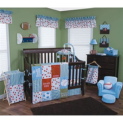 Trend Lab Crib Bedding Trend Lab 174 Mvp Crib Bedding Collection Buybuy Baby