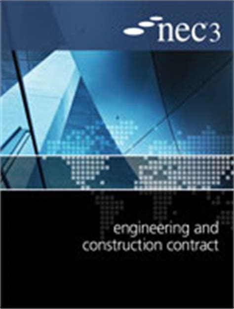 design and build subcontract nec3 engineering and construction subcontract ecs nec