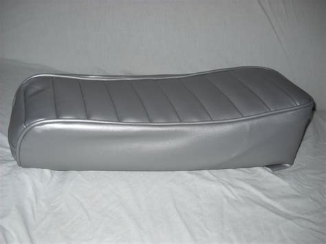 Tuck N Roll Upholstery by Mini Bike Seat Upholstery Tuck N Roll Silver Lxmboutique