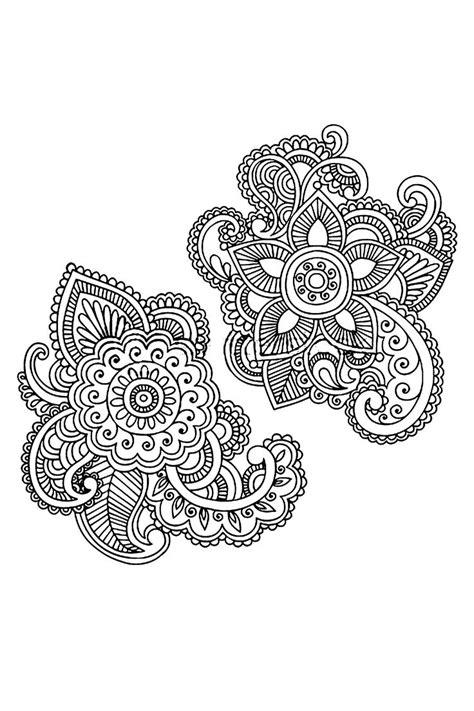 paisley henna tattoo best 25 paisley flower tattoos ideas on
