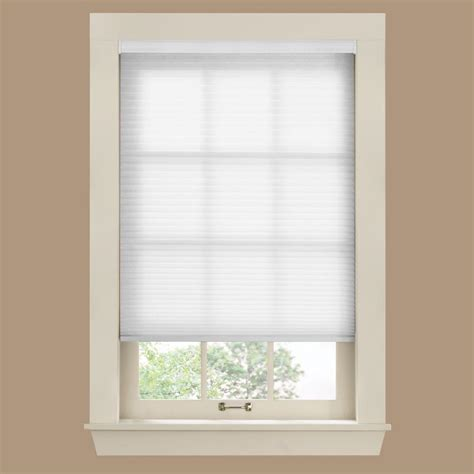 l shades bali cut to size white 9 16 in cordless light filtering cellular shade 48 in w x 72 in l