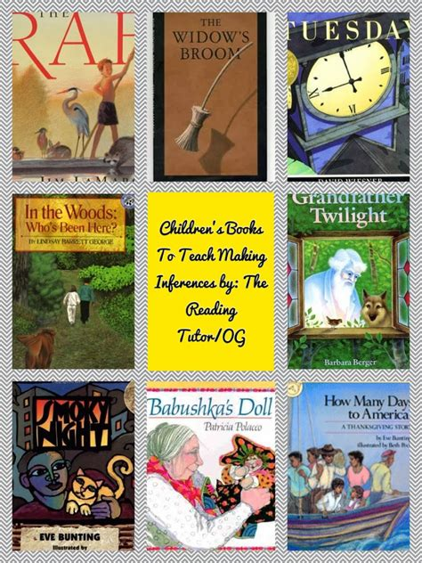 picture books for inferencing mentor monday linky 2 3 14 inferences and a