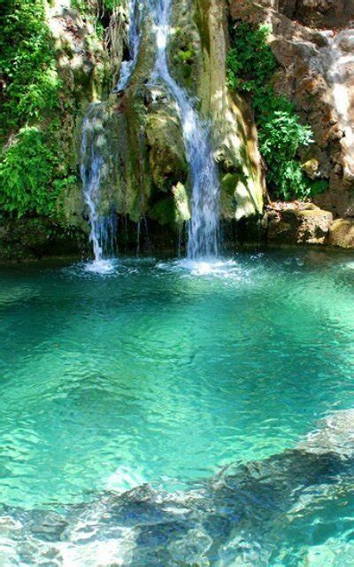 waterfalls  fonissa greece  awesome waterfalls