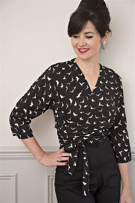 Blouse Matcha Top sew it ella blouse sewing pattern sew it