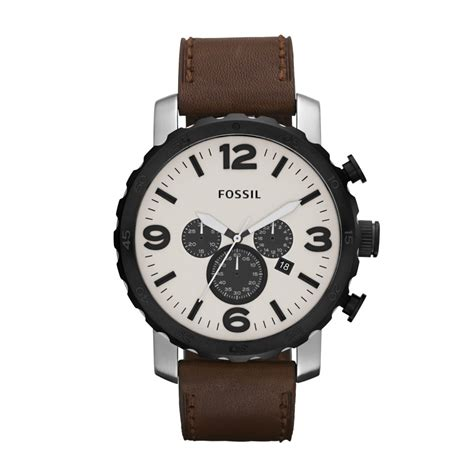 fossil mens nate chronograph