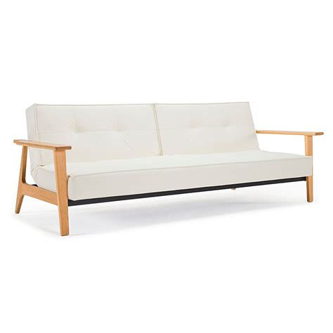 White Sleeper Sofa Splitback Frej Modern White Sleeper Sofa Eurway