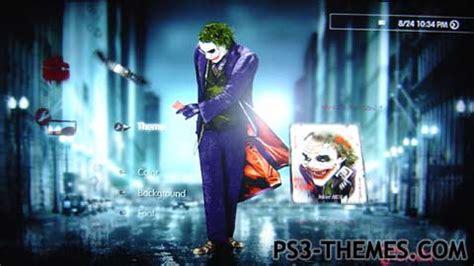 download themes joker ps3 themes 187 joker mdt