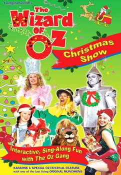 o christmas tree dvd the wizard oz show dvd the wizard of oz show