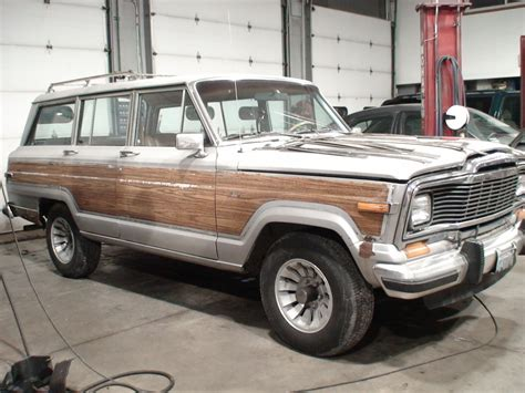 Jeep Grand Wagoneer Restoration Parts 1984 Jeep Grand Wagoneer Pictures Cargurus