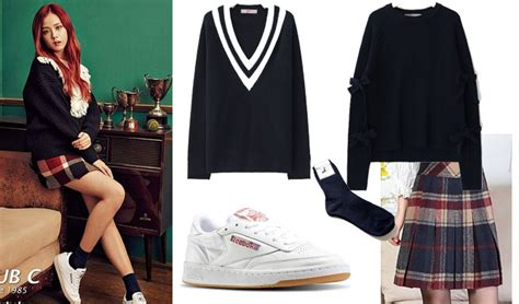 blackpink outfit cost fab fashion friday blackpink style with reebok s club c