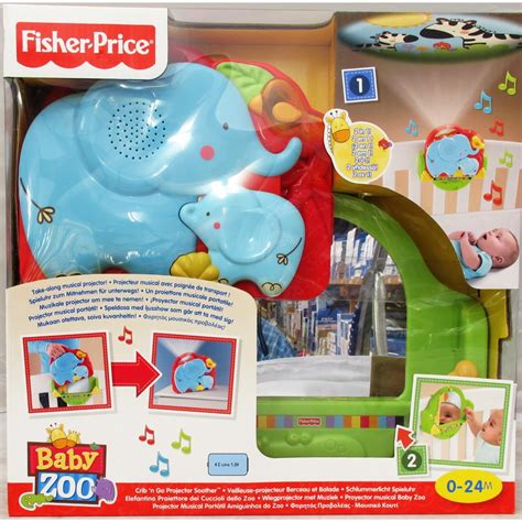 fisher price baby bed fisher price t6338 luv u zoo crib n go projector soother